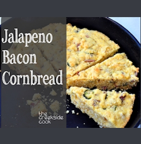 Jalapeno Bacon Cornbread on The Creekside Cook