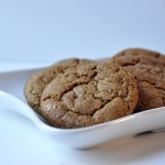 Molasses Crinkles Cookies