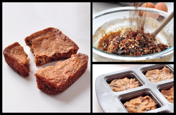 Cinnamon Pecan Blondies Recipe — Dishmaps