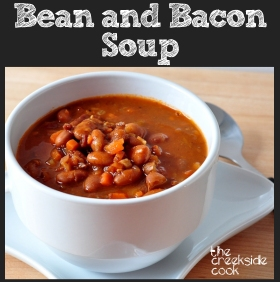 Bean with Bacon Soup on The Creekside Cook