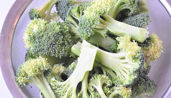 fresh cut broccoli