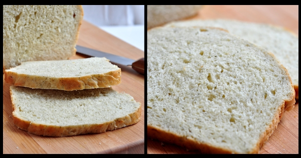 sliced cottage cheese dill bread