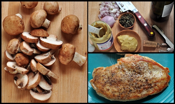 ingredients for dijon mushroom chicken