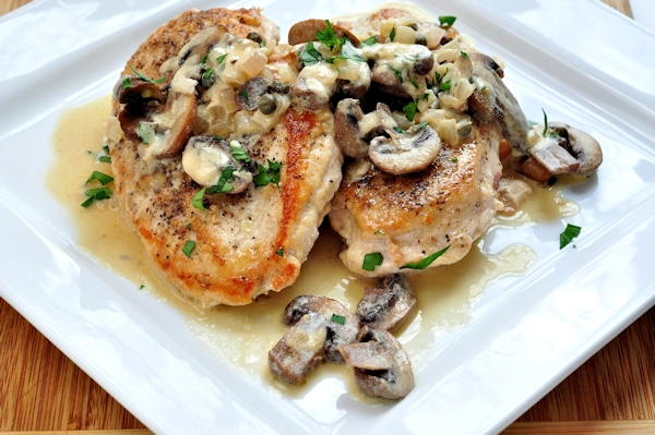 ... artichoke chicken roulades with mushroom kamut huge fans of mushrooms