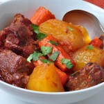 five spice pork stew in bowl