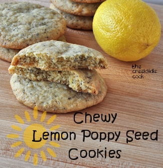 Chewy Lemon Poppy Seed Cookies