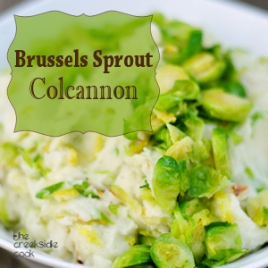 brussels sprout colcannon