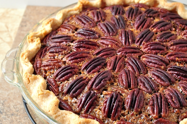 whole bourbon pecan pie