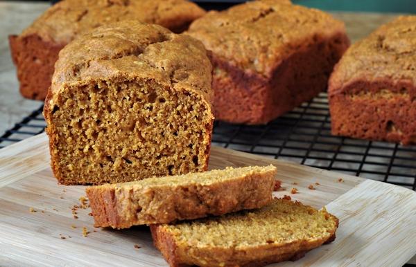 slice sweet potato quick bread