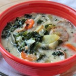 Kale & Spicy Sausage Soup