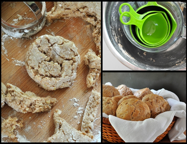 baking whole wheat lemon ginger scones