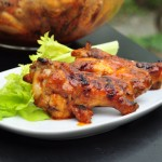 Grilled Buffalo Hot Wings
