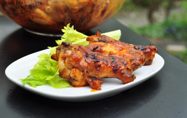 Grilled Buffalo Hot Wings - The Creekside Cook