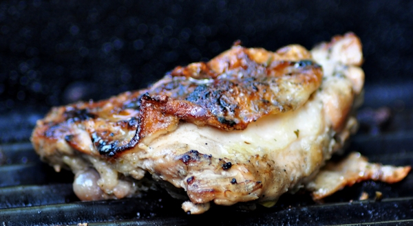 Herb Grilled Chicken Thighs - The Creekside Cook