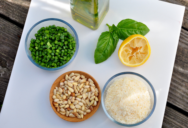 simple ingredients make the best pesto