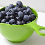 cup of fresh blueberries