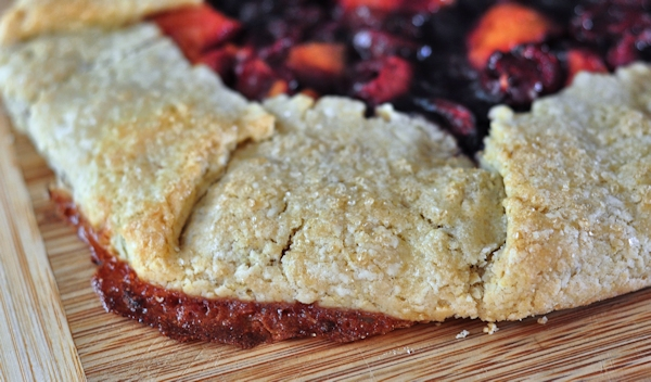 crust of summer fruit galette