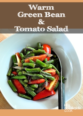 Warm Green Bean Salad on The Creekside Cook