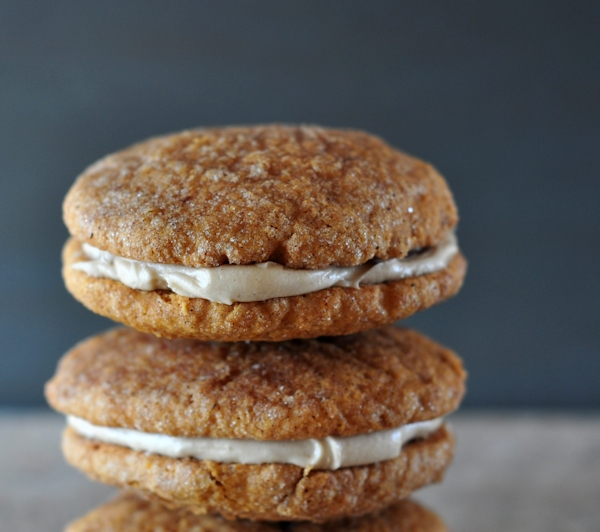 100 Pumpkin Filled Snickerdoodle Sandwich Cookies  : featured from stwoolf.com size 600 x 532 jpeg 176kB