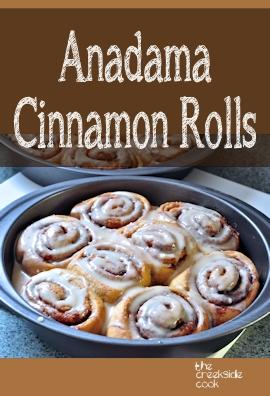 anadama cinnamon rolls