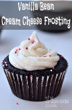 Vanilla Bean Cream Cheese Frosting