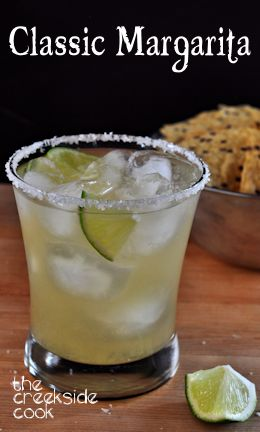 Classic Margarita on The Creekside Cook