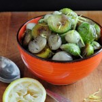 brussels sprouts with shallots and browned butter