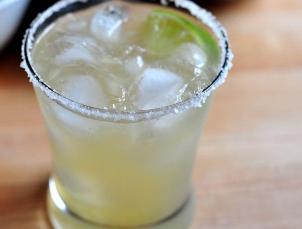 classic margarita in a glass