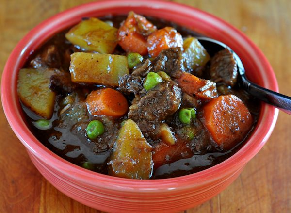 Bowl of Guinness Beef Stew