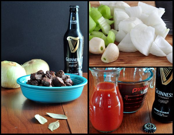 ingredients for guinness beef stew