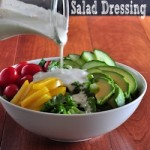 Creamy Feta Cheese Salad Dressing on The Creekside Cook
