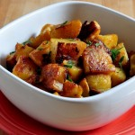 twice baked oven homefries