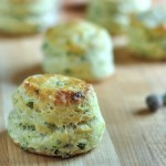 Savory Chive Cream Cheese Scones