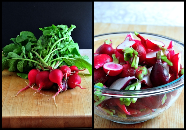 radishes on The Creekside Cook