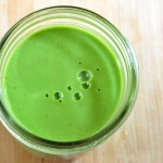 Greens & Nectarines Protein Smoothie