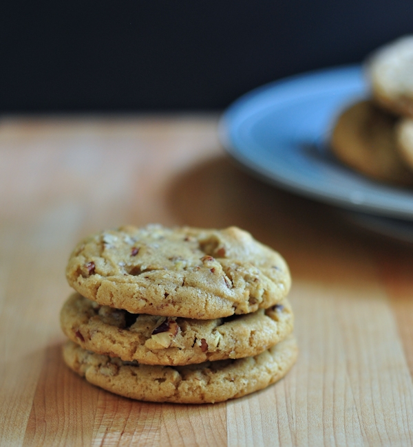 Beautiful Brown Butter Pecan Cookies on The Creekside Cook
