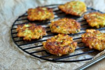 Beautiful and tasty Fresh Corn Fritters on The Creekside Cook