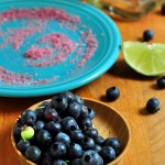 Atermath of making Blueberry Margarita on The Creekside Cook