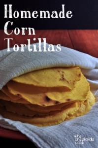 Homemade Corn Tortillas on The Creekside Cook