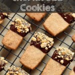 Hazelnut Shortbread Cookies on The Creekside Cook