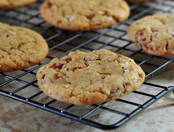 Brown Butter Pecan Cookies - The Creekside Cook