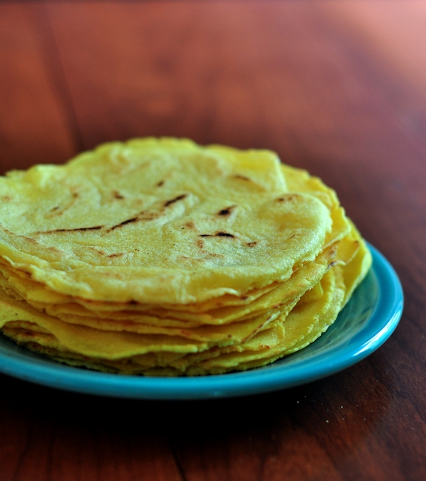 Yummy Homemade Corn Tortillas on The Creekside Cook