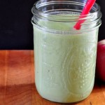 Recipe for Apple Ginger Green Smoothie on The Creekside Cook