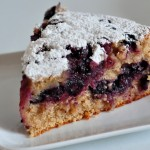 Blueberry Ginger Buttermilk Cake