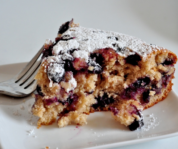 Blueberry Ginger Buttermilk Cake on The Creekside Cook