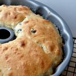 Baking Pumpkin Raisin Yeast Bread on The Creekside Cook