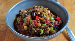 Find the recipe for Smoky Turkey Chili on The Creekside Cook