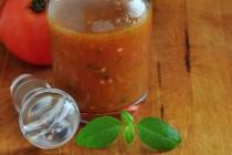 Recipe for Fresh Tomato Vinaigrette at The Creekside Cook