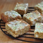 Macadamia Lime Blondies on The Creekside Cook