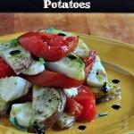 Margherita Roast Potatoes on The Creekside Cook